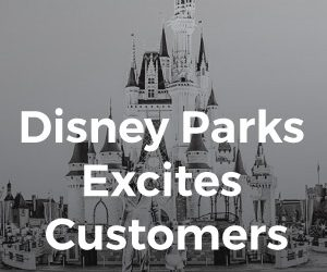 Disney Parks Excites Customers
