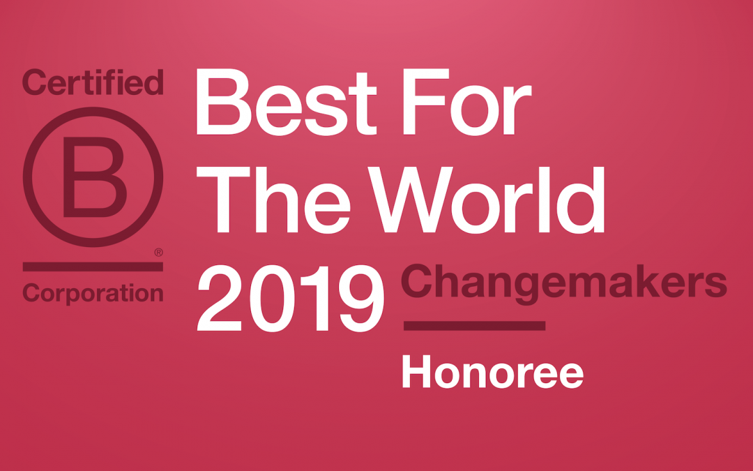 "Symplicity Designs Recognized as a ""Best For The World"" B Corp"